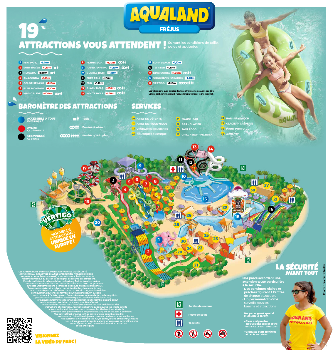 parc aquatique france carte Aqualand | Parc Aquatique Frejus