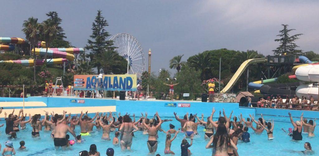 Faites de l'Aquagym à Aqualand !