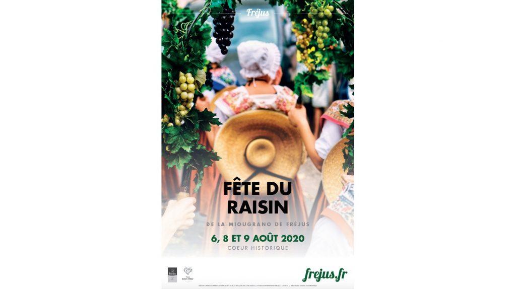 Profitez de la Fête du raisin du 6 au 8 Aout 2020 à Fréjus